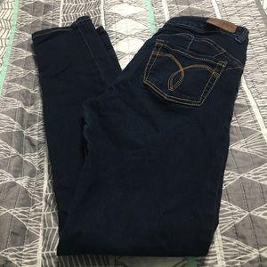 Paris blue skinny jeans